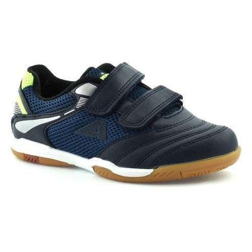 Chłopięce buty sportowe American Club 17061 - Granatowy, kolor niebieski