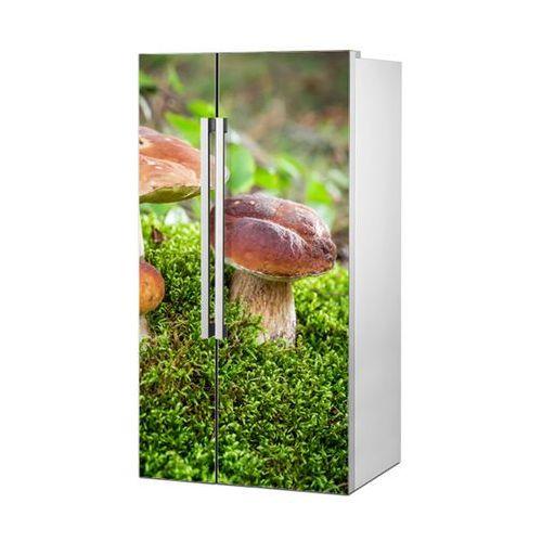 Mata magnetyczna na lodówkę side by side - aromatyczny grzybek 4996 marki Stikero