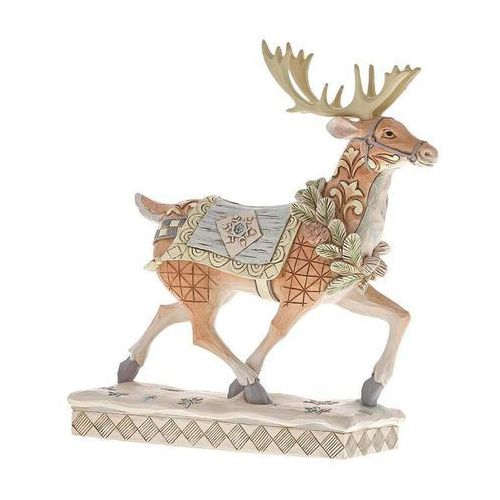 Renifer zimowa przygoda czeka adventure awaits (white woodland reindeer) 6001411 marki Jim shore