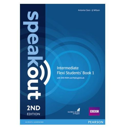 Speakout 2Ed Intermediate. Flexi Course Book 1 + DVD + MyEnglishLab, oprawa miękka