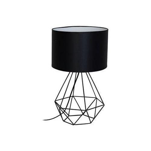Decoland Lampa stołowa basket 1xe27/60w/230v czarny (5907565972016)