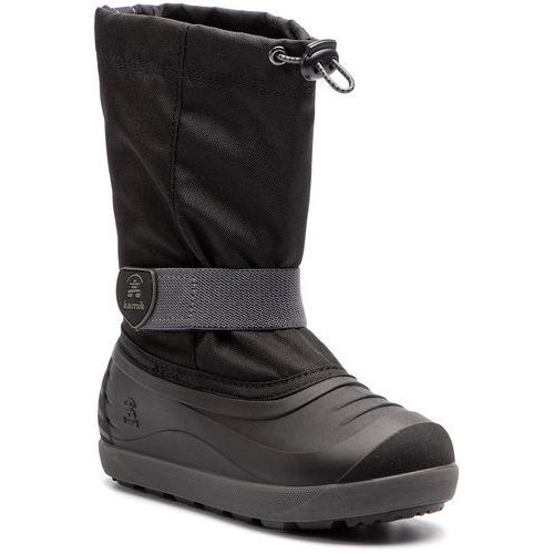 Śniegowce - jet nf4028 black charcoal marki Kamik