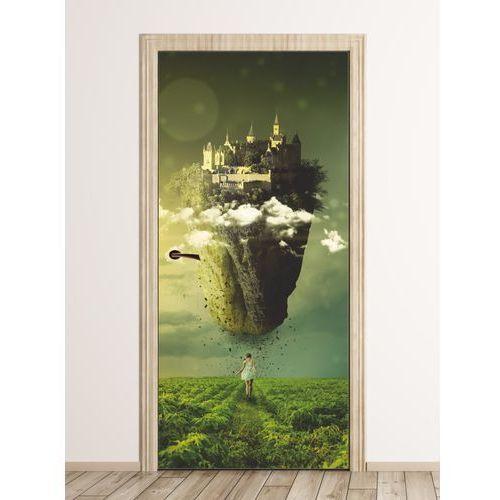 Fototapeta na drzwi bajkowy zamek fp 6087 marki Wally - piękno dekoracji