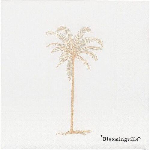 Serwetki Palm białe, 31000699