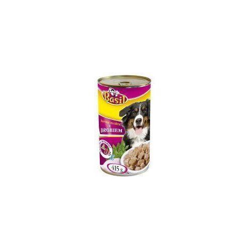 Karma dla psa z drobiem Basil 415g (5906731505324)