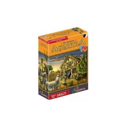 Agricola (wersja dla graczy). gra planszowa marki Lacerta