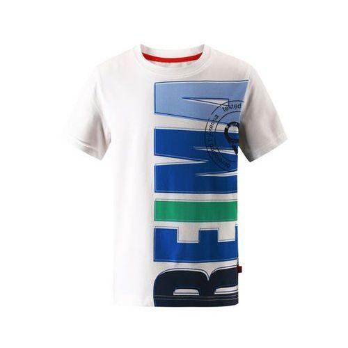 T-shirt koszulka z krótkim rękawem  haileri biało/niebieska marki Reima