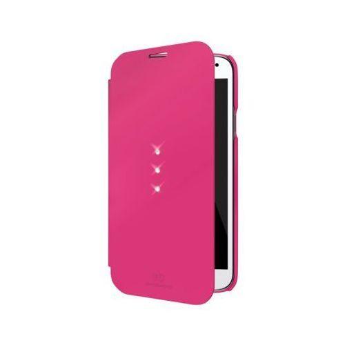 Etui WHITE DIAMONDS Booklet do Samsung Galaxy S5 Mini Różowy - produkt z kategorii- Futerały i pokrowce do telefonów