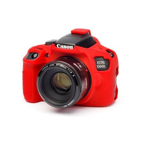 osłona gumowa dla canon 1300d/t6 czerwona wyprodukowany przez Easycover