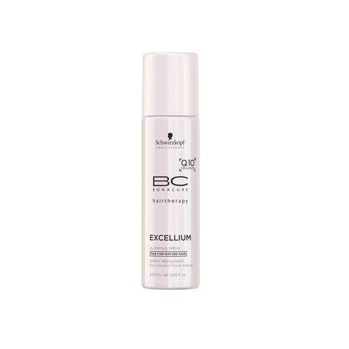 bc bonacure excellium plumping odżywka w sprayu dla dojrzałych włosów (exclusive age-defying formula combining q10 and collag marki Schwarzkopf professional