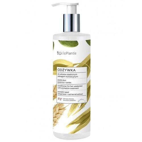 Vis Plantis Herbal Vital Care Odżywka do włosów osłabionych (pestki dyni-pszenica-owies) 400ml (5904567058854)