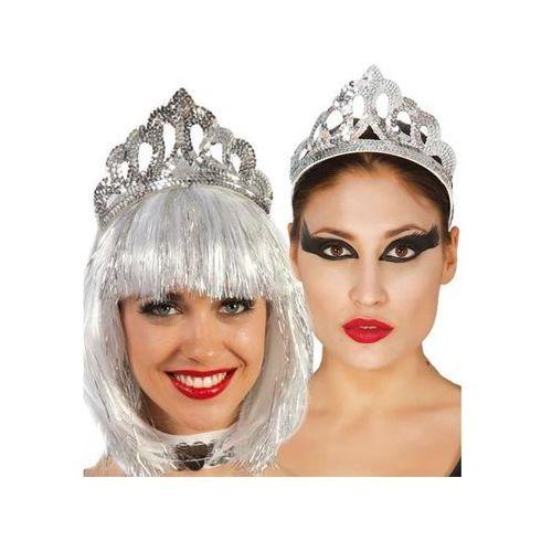 Gu Tiara diadem srebrna z cekinami - 1 szt.