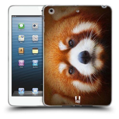Etui silikonowe na tablet - twarze zwierząt panda czerwona marki Head case