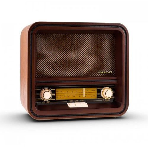 Auna Radio w stylu retro belle epoque 1901 fm/am usb mp3