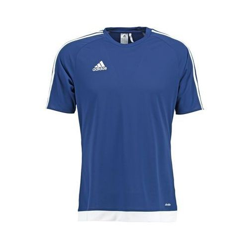 adidas Performance ESTRO Koszulka sportowa dunkelblau/weiß