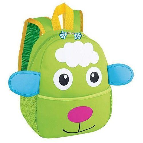 Plecak owieczka zielony - Spokey, kolor zielony