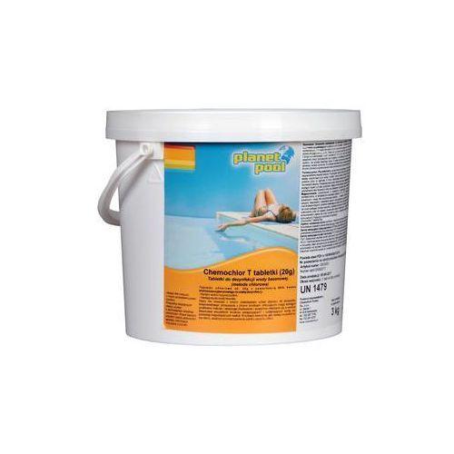 Tabletki do basenu 20 g / 3 kg PLANET POOL CHEMOCHLOR T