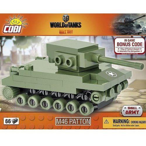 Cobi klocki Small Army 66 elementów M46 Patton Nano Tank