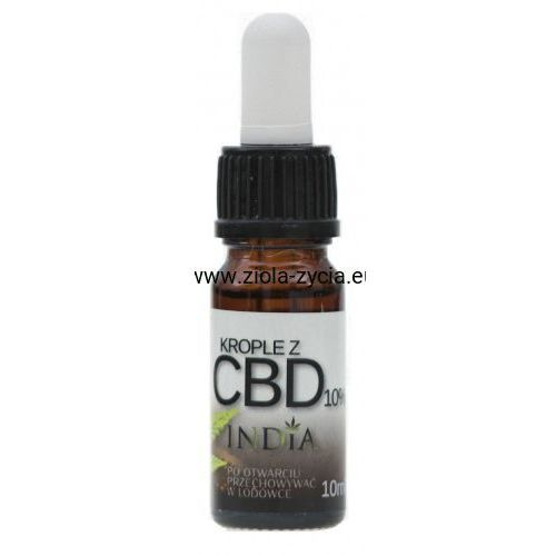 Krople z CBD 10% - India Cosmetics, 23108661