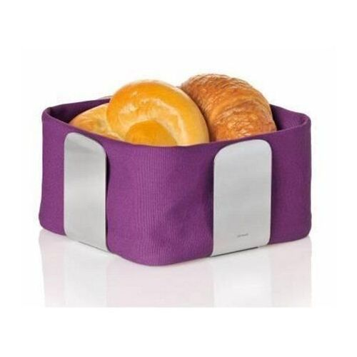 Blomus - wkład do koszyka na pieczywo 25,5 cm - desa fioletowy - fioletowy (4008832635328)