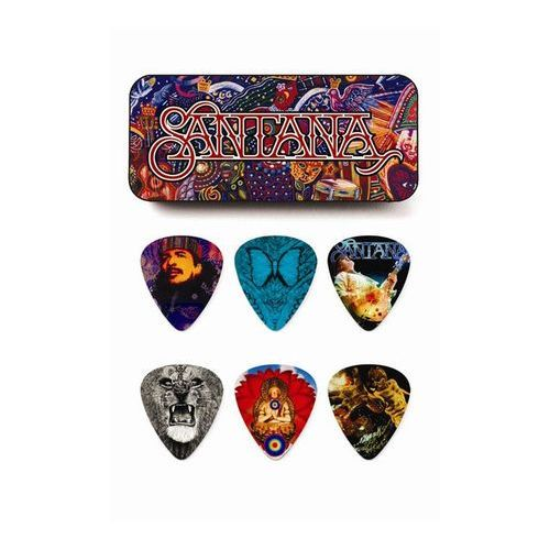 Dunlop SANPT02H Santana kostki gitar. puszka 6szt.
