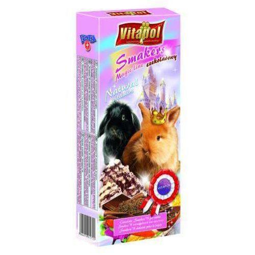 Vitapol  kolby dla królika z czekoladą magic line, 2 sztuki