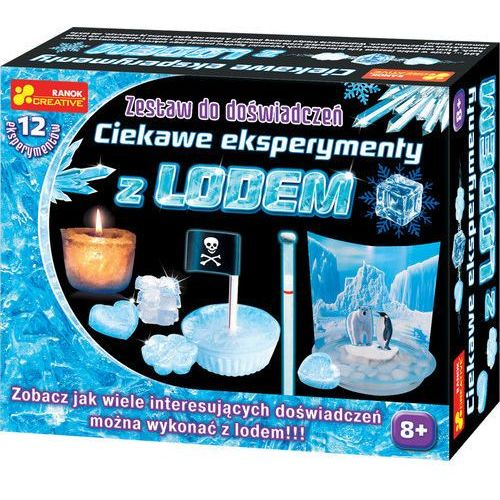 Zestaw do doświadczeń - ciekawe eksperymenty z lodem 12160295 - darmowa dostawa kiosk ruchu marki Ranok-creative