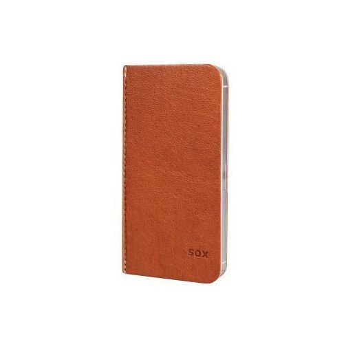 Etui HAMA iPhone 5/5S Portfolio Sox Karmelowy, kup u jednego z partnerów