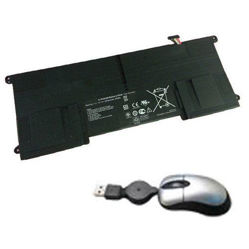 tai21 – 05 do bateria dla asus taichi 21, c32-taichi21 – obejmują mini myszka optyczna czarny marki Amsahr