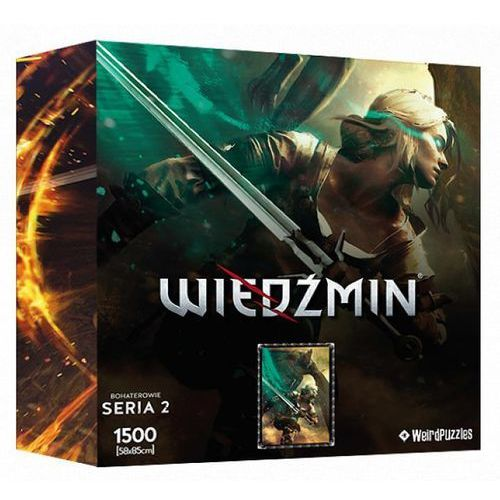 Cdp.pl software Puzzle cdp.pl bohaterowie wiedźmina - ciri (seria 2) (5907610755571)