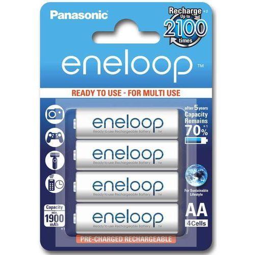 4 x akumulatorki Panasonic Eneloop R03 AAA 800mAh BK-4MCCE/4BE (blister)