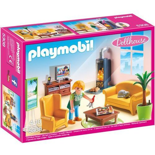 Playmobil DOLLHOUSE Salon z kominkiem 5308