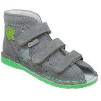 Danielki Kapcie profilaktyczne buty ta125 ta135 szary zielony - szary ||popielaty ||zielony ||multikolor