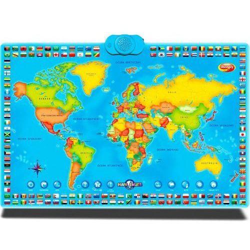 interaktywna mapa świata marki Dumel discovery