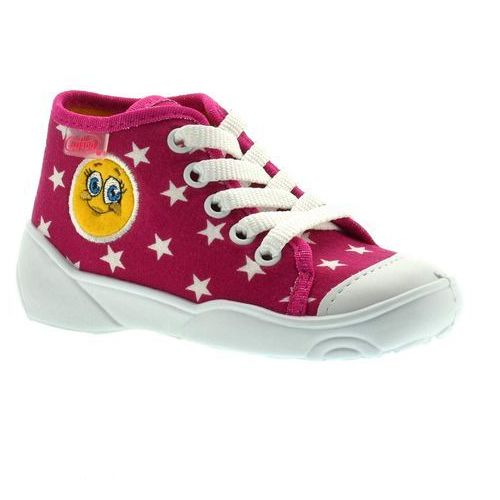 Trampki dla dzieci Befado 218P055 Maxi - Fuksja, kolor różowy