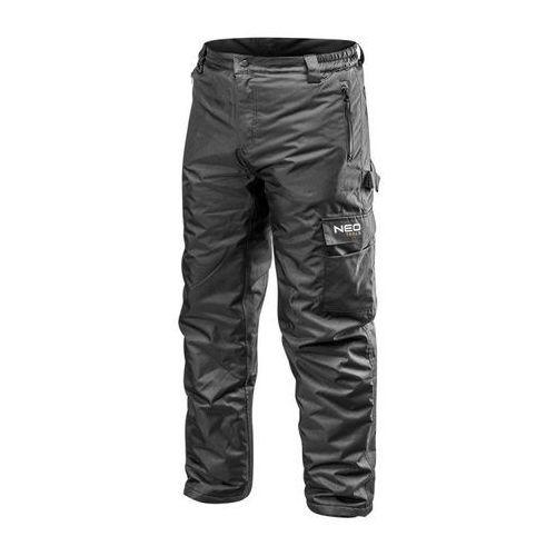 Neo tools Spodnie robocze ocieplane oxford xxl neo