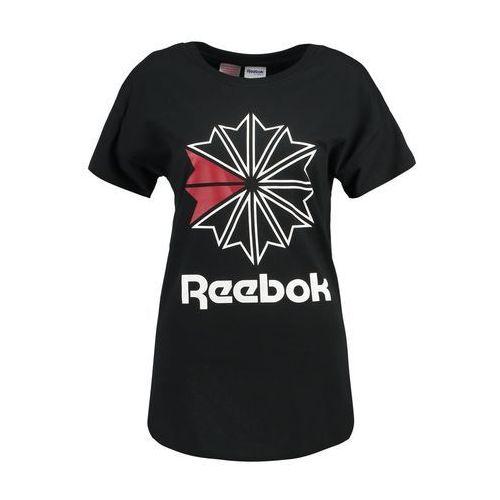 Reebok Classic Tshirt z nadrukiem black, w 5 rozmiarach