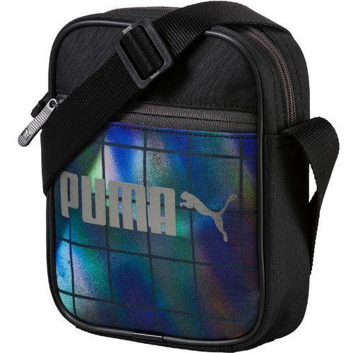 Puma torebka Campus Portable Black-Irredescent G (4056207747169)