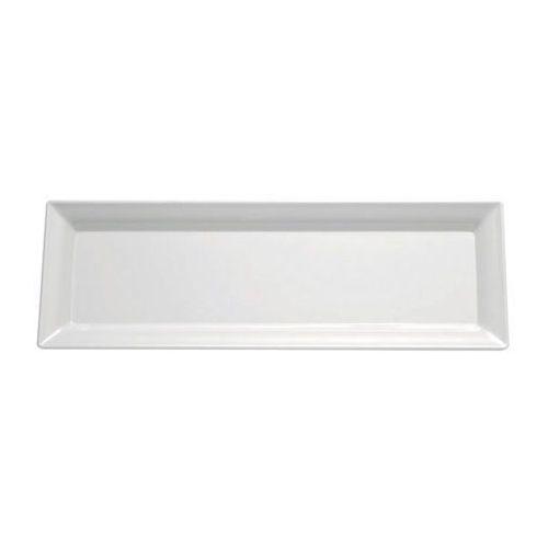 Taca PURE z melaminy biała 65x26,5 cm