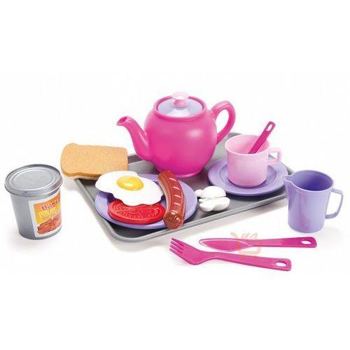 Dantoy Zestaw śniadaniowy z tacką (różowy)