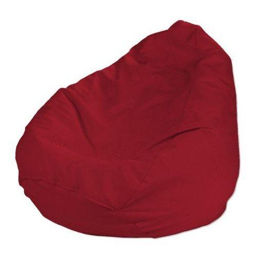 pokrowiec na worek do siedzenia, czerwony, pokrowiec Ø60x105cm, etna marki Dekoria