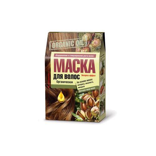 Organiczna maska do włosów olej cyprysowy, eukaliptusowy, migdałowy przyspiesza porost 3x30ml marki Fitokosmetik, rosja