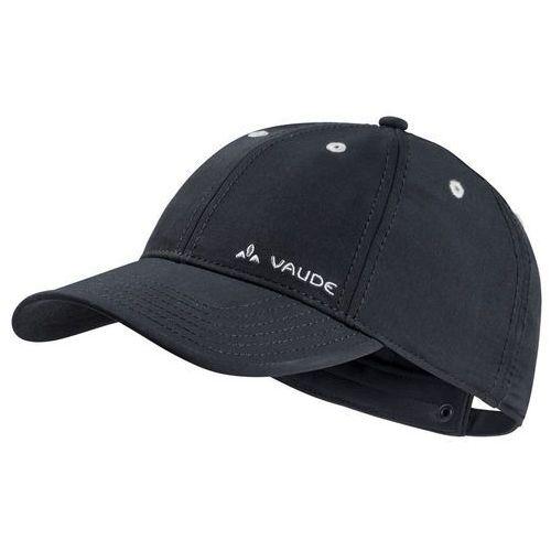 Vaude softshell nakrycie głowy czarny s 2018 czapki z daszkiem