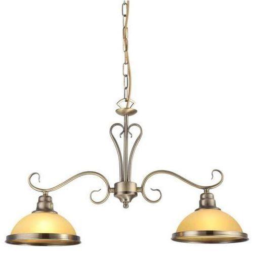 Lampa wisząca classico 2 lp-6905/2p patyna + darmowy transport! marki Light prestige