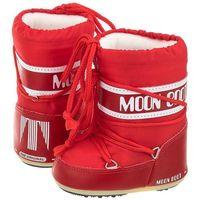 Śniegowce Moon Boot Mini Nylon Red 14004300003 (MB25-a), 14004300003