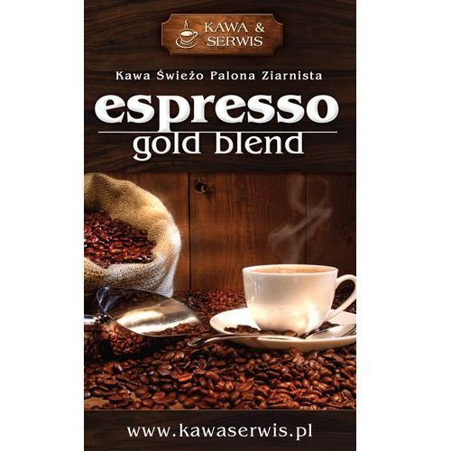 Kawa espresso gold blend 1 kg marki Kawa swieżo palona