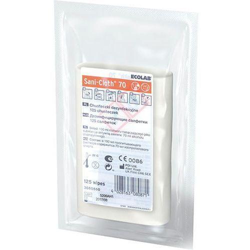 Ecolab Sani-cloth 70 wkłady chusteczek dezynfekcyjnych 125 szt. (4028163080871)