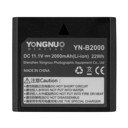 Akumulator YONGNUO YN-B2000 do lamp błyskowych (5901891108262)