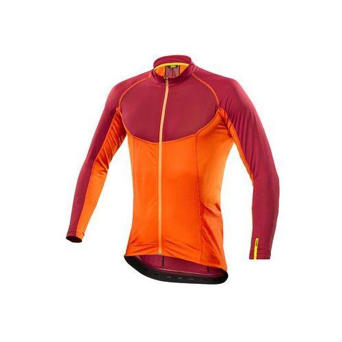 Męska koszulka ksyrium pro ls jersey red/george orange rozmiar m marki Mavic