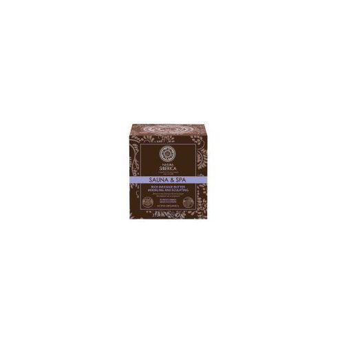 Natura Siberica Sauna & SPA, bogate masło do ciała antycellulitowe, 370ml z kategorii Pozostałe kosmetyki wyszczuplające